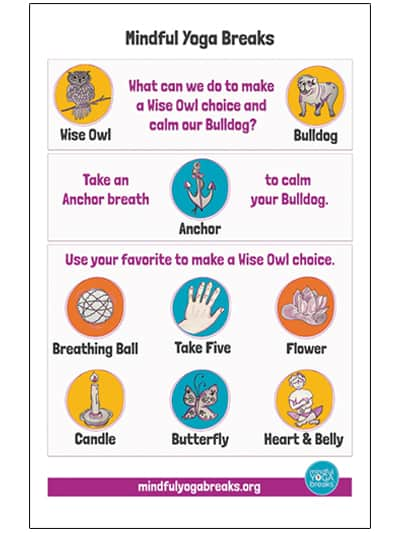 Anchor Breath Poster Yoplay Yoga For Kids